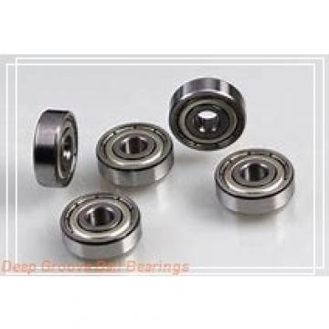 90mm x 140mm x 16mm  FAG 16018-fag Deep Groove Bearings