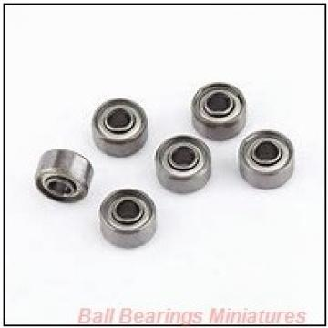 2mm x 6mm x 2.5mm  ZEN mf62-zen Ball Bearings Miniatures