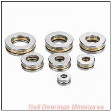 2mm x 6mm x 3mm  ZEN 692-2z-zen Ball Bearings Miniatures