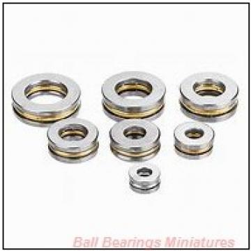1.5mm x 5mm x 2.6mm  ZEN sf691x-2z-zen Ball Bearings Miniatures