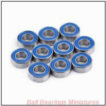 2mm x 7mm x 2.8mm  ZEN smr72-zen Ball Bearings Miniatures