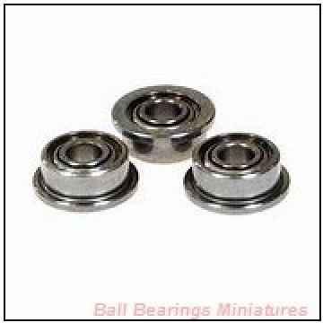 2mm x 7mm x 3mm  ZEN mr72-2z-zen Ball Bearings Miniatures