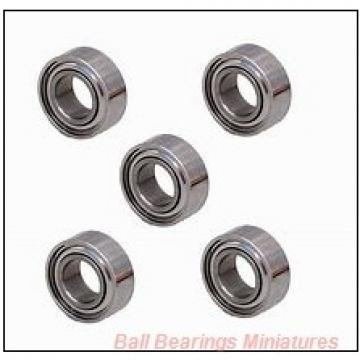 2mm x 6mm x 2.5mm  ZEN mr62-2z-zen Ball Bearings Miniatures