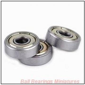 2mm x 7mm x 3mm  ZEN smr72-2z-zen Ball Bearings Miniatures