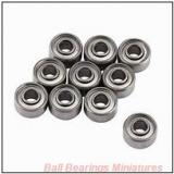 2.5mm x 7mm x 2.5mm  ZEN s692x-zen Ball Bearings Miniatures